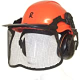 New RocwooD Professional Chainsaw Safety Helmet With Ear Muffs With Visor