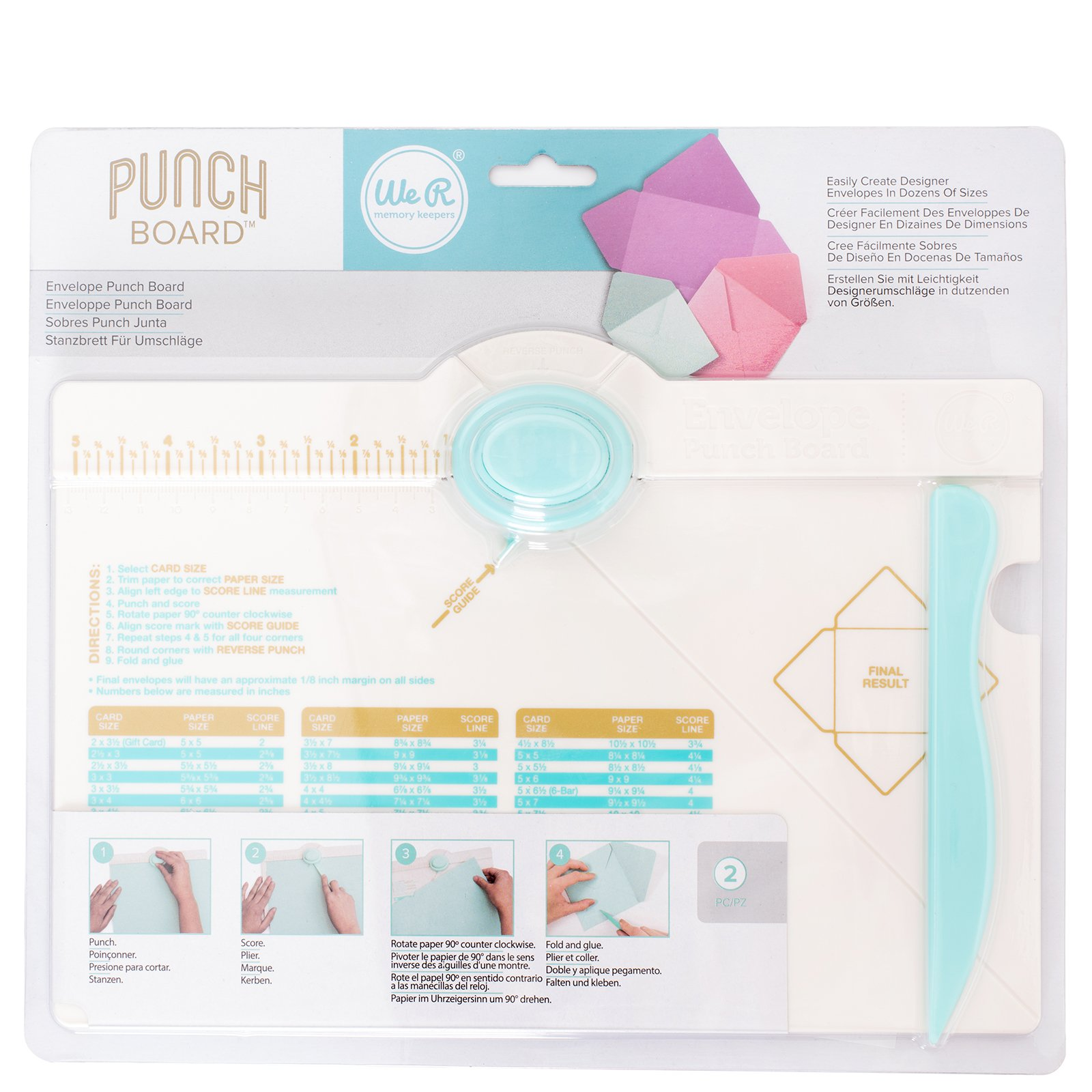 Envelope Punch Board by We R Memory Keepers. The