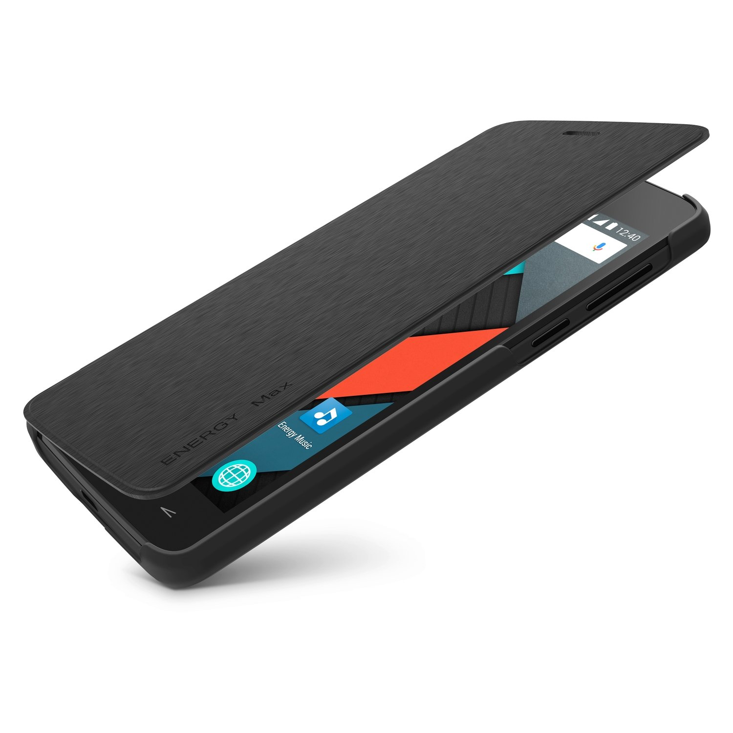 Energy Phone Cover Max 4000 Black (Funda Smartphone exclusiva Phone Max 4000)