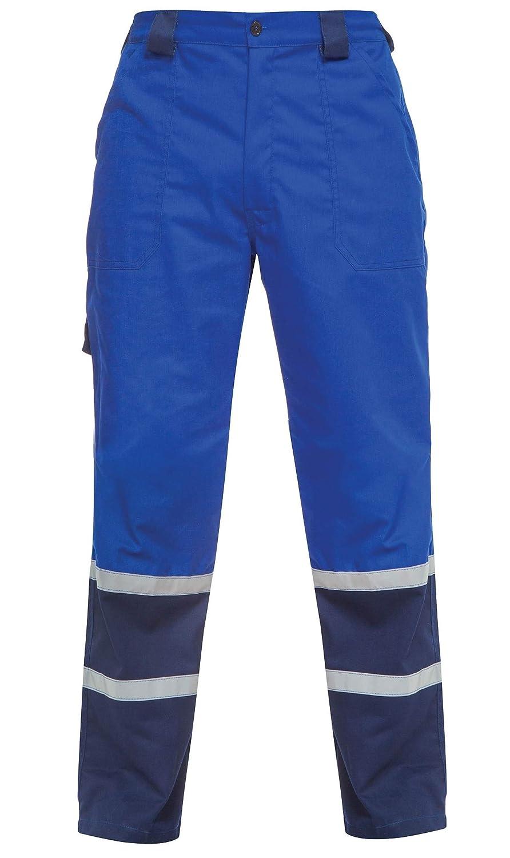 avec Bande r/éfl/échissante de 2,5 cm Couleurs diff/érentes DINOZAVR Char Pantalon de Travail//Cargo s/écurit/é pour Homme