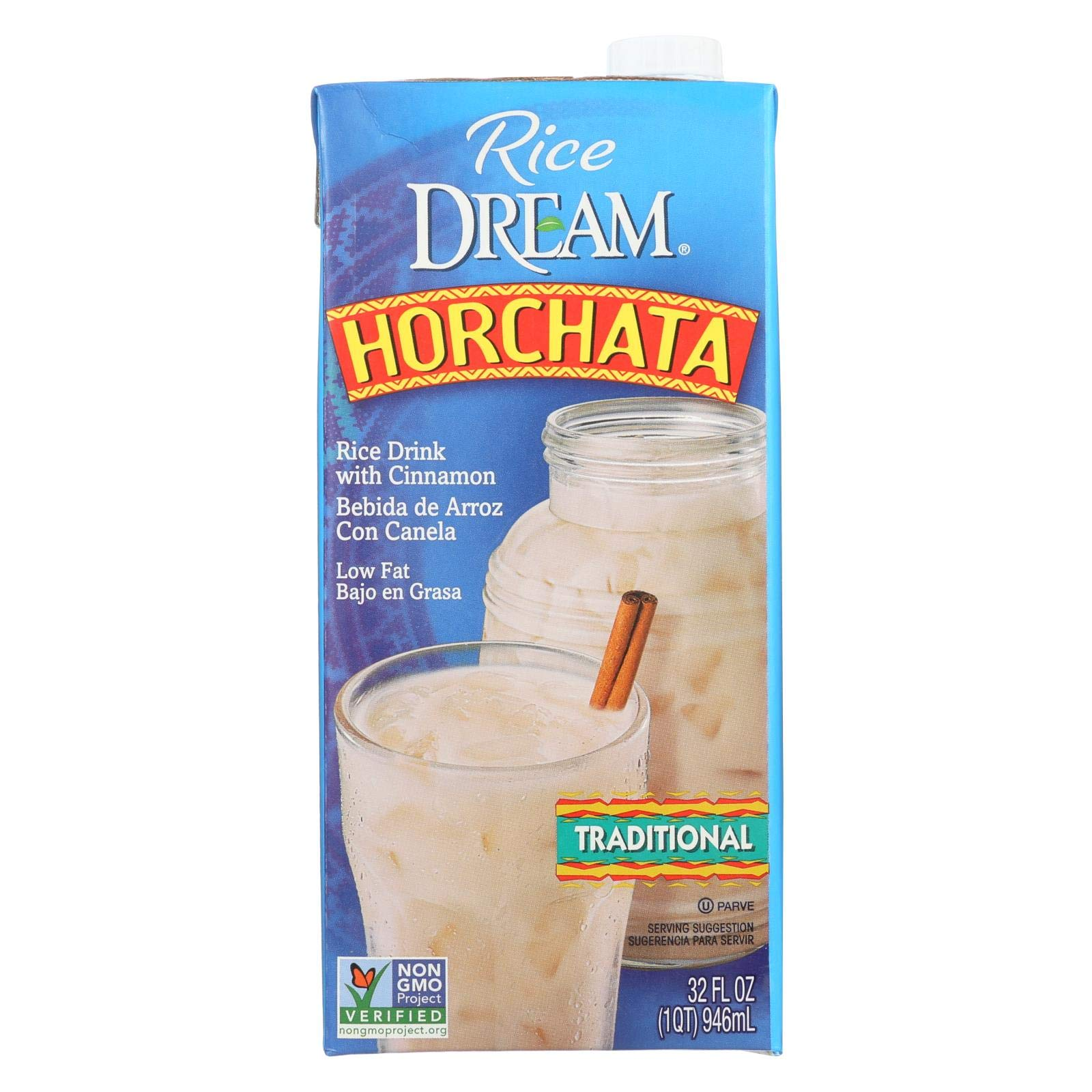 Imagine Foods Rice Dream Traditional Rice Drink - Horchata - Case of 6 - 32 Fl oz. by Imagine Foods