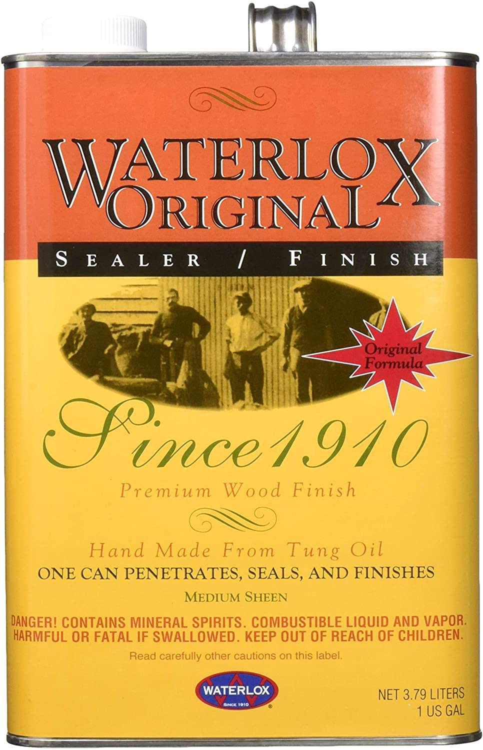 Waterlox 5284GL 5284-GL sealant, Clear