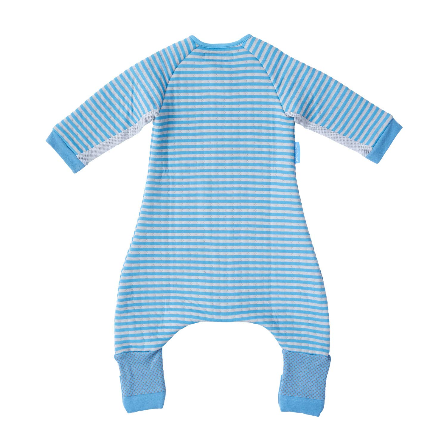 Playsuit /& Sleepsuit 24-36 Months The Gro Company Groromper Cosy Pink Stripe