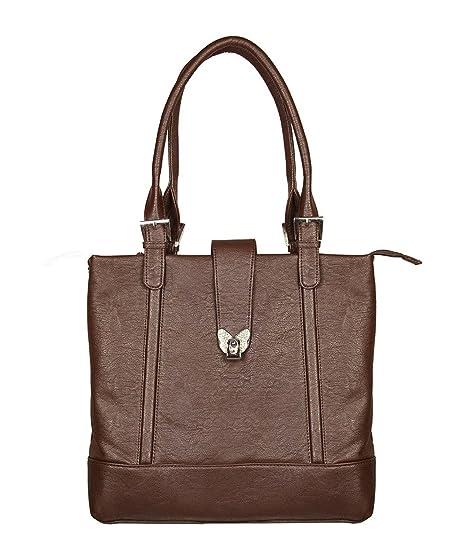 78eccba50cc LB- Designer Handbag for Women   Shoulder Bag for Women and Girls -Brown,LB-411   Amazon.in  Clothing   Accessories