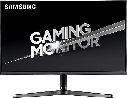 Samsung C27jg52 Ecran Pc Gaming Incurvé Dalle Va 27 Résolution Wqhd 2560 X 1440 144 Hz 4ms Amd Freesync Noir