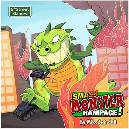 Amazon Com Smash Monster Rampage Toys Games