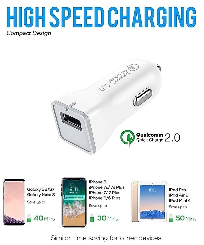 Note 9 USB Type-C Cable Adaptive Fast Wall Charger Samsung Galaxy S9, Galaxy S9 Plus, Galaxy S8, LG G6 G5 V30 V20, Google Pixel 2, Nexus 5X 6p, GoPro5 ...