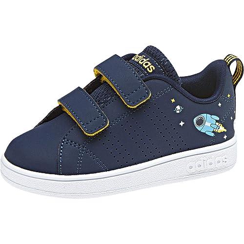 Adidas Vs ADV Cl CMF Inf, Zapatillas de Deporte Unisex niño, Azul (Maruni/Ftwbla / Eqtama 000), 26 EU: Amazon.es: Zapatos y complementos