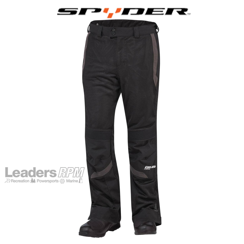 Can-Am Spyder New OEM Men's Summer Mesh Pants 38 Black, 4415334190