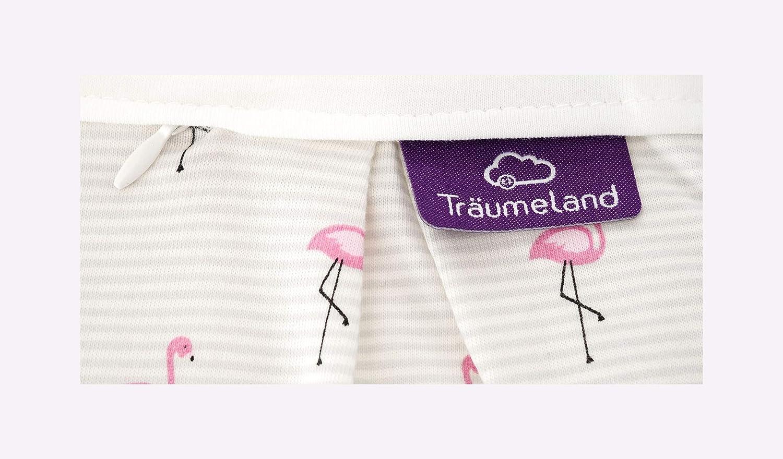 Tr/äumeland S0102501 Au/ßenschlafsack LIEBMICH Flamingo 44 mehrfarbig