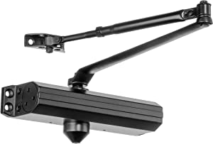 Dynasty Hardware 1614-DURO Grade 1 Door Closer, Size 1-4, ADA Compliant, Sprayed Dark Bronze