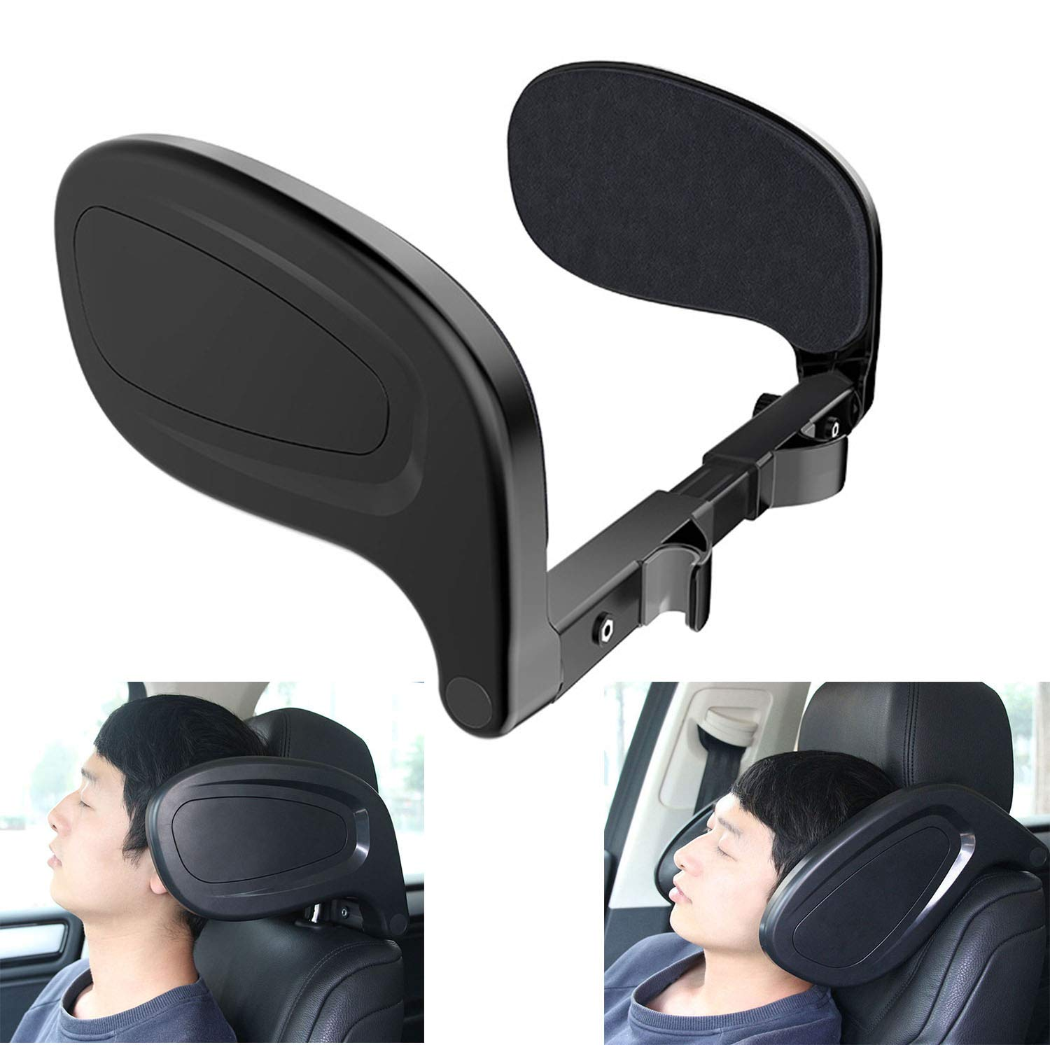 YQJ Car car Side Sleeping headrest Bracket Child seat Sleeping Pillow Neck seat headrest Travel headrest U-Shaped Ergonomic Best Neck Support Solution for Children and Adults