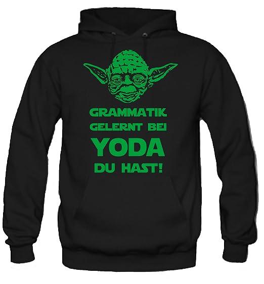 Yoda Spruch Kapuzenpullover Star Wars Lustige Darth