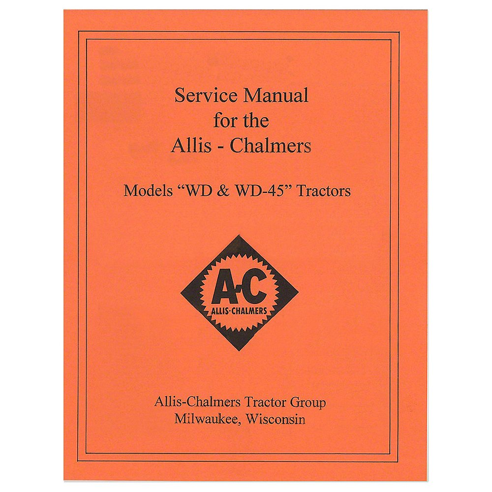 Amazon.com: REP092 New Tractor Service Manual for Allis ... on