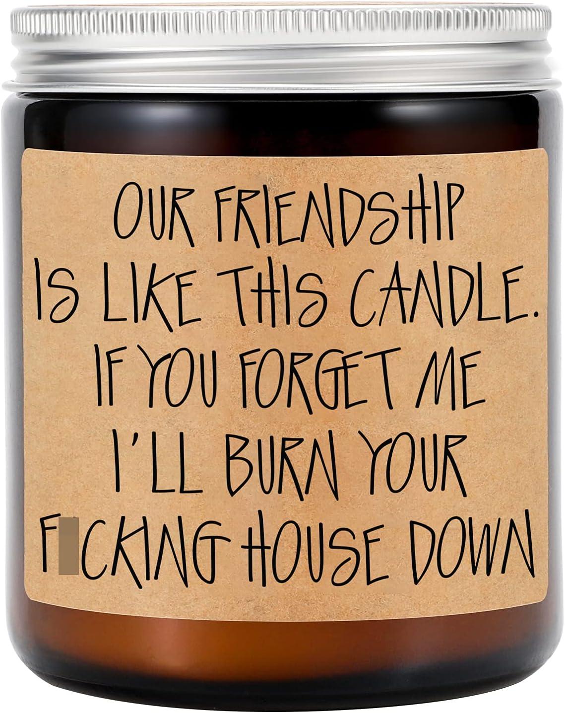 Friendship Gift Friendship Candle Best Friend Definition 9 oz Soy Candle Best Friend BFF Gift Bestie Gift Best Friend Candle