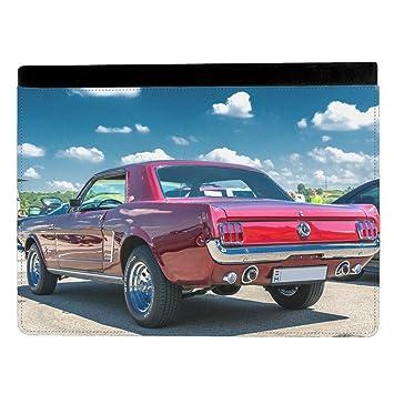 Imagen de 1965 Ford Mustang Fastback Classic coche funda para tablet multicolor Apple iPad Pro 9.7 Inch Leather Flip: Amazon.es: Electrónica