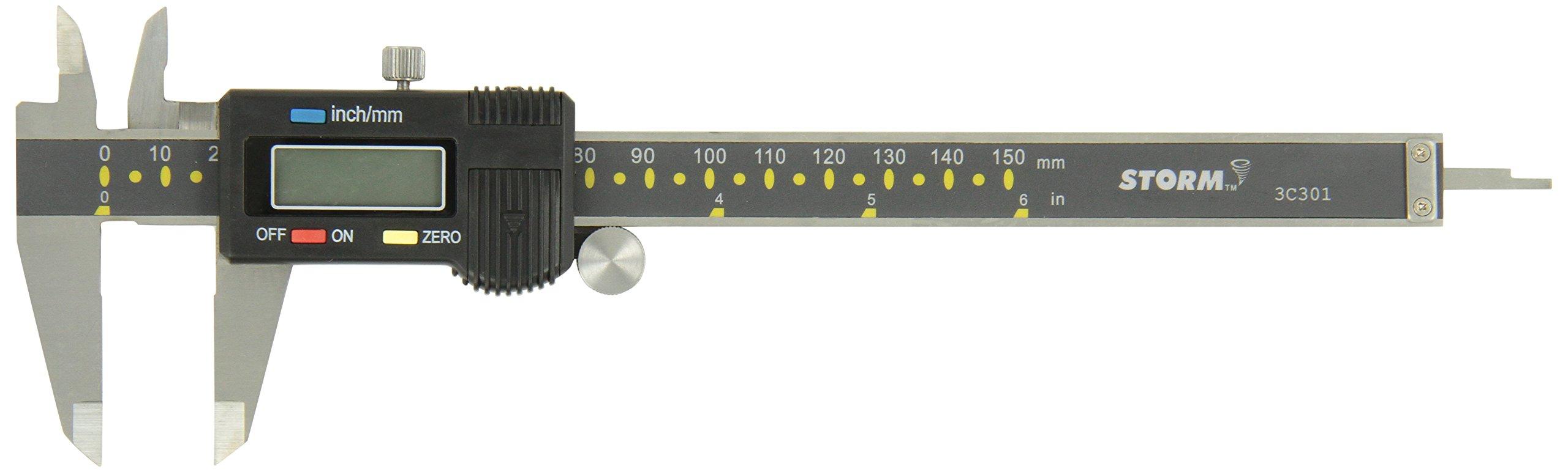 Central Tools 3C301 6'' Digital Caliper