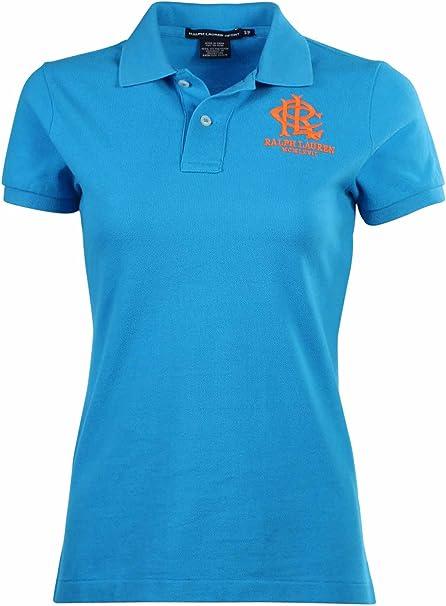 Ralph Lauren Polo Camiseta de Deporte RLC de Rayas Logo Polo para ...