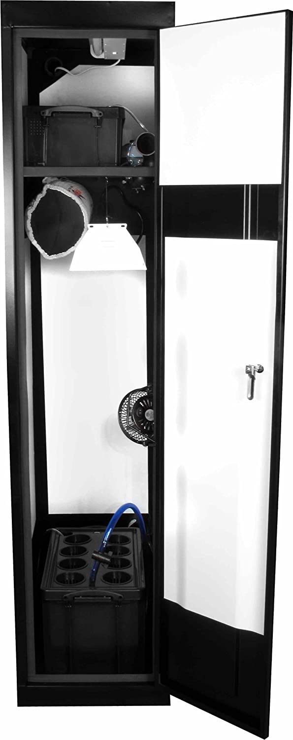 Supercloset Superlocker 250watt Grow Box Cabinet Closet System