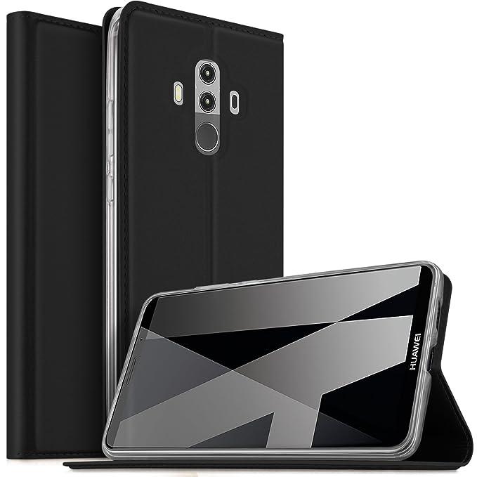 11 opinioni per Huawei Mate 10 Pro Cover, KuGi Slim Flip Cover Custodia per Huawei Mate 10 Pro