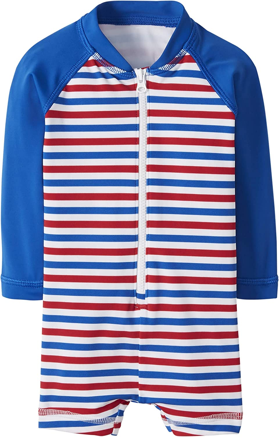 Hanna Andersson Rash Guard Suit Fourth of July Stripe