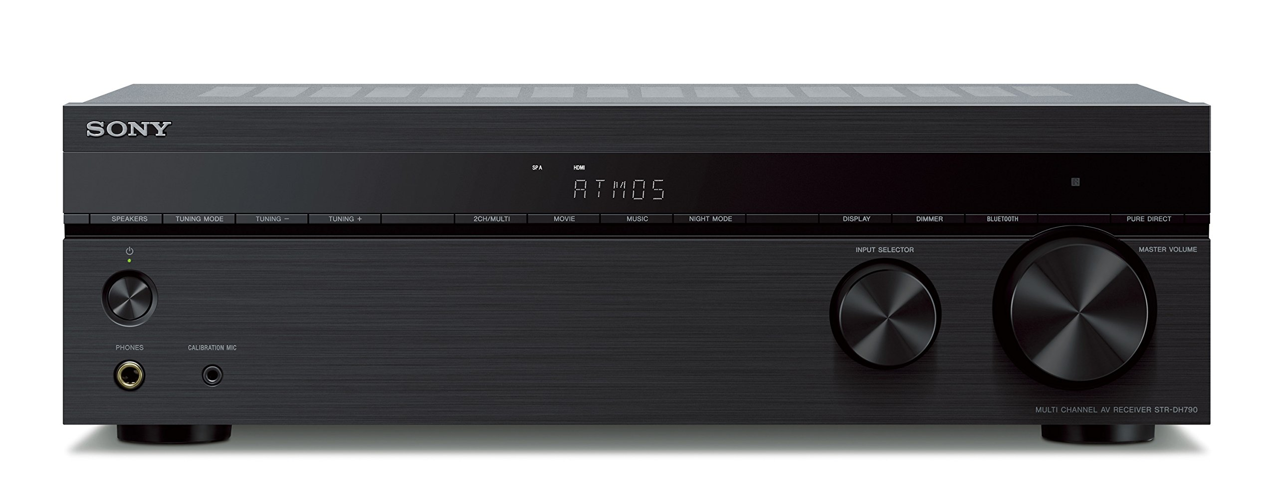 Sony STR-DH790 7.2-ch AV Receiver, 4K HDR, Dolby Vision, Dolby Atmos, dts:X, with Bluetooth 2
