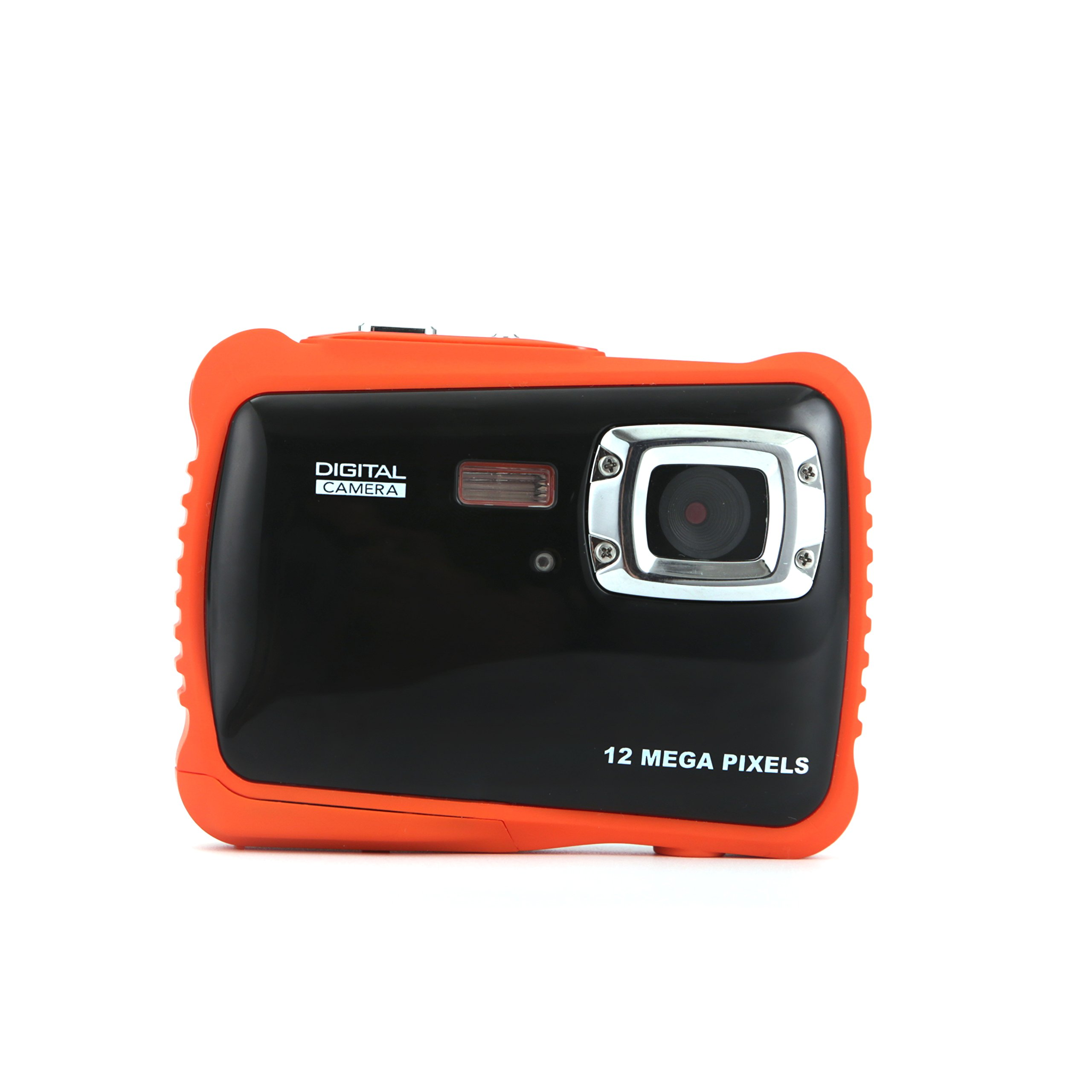 Kids Digital Camera - Waterproof to 3 Meters - HD Video Recorder and 5 Mega Pixels - Shockproof Childrens Camera (Orange) by BAVISION (Image #2)