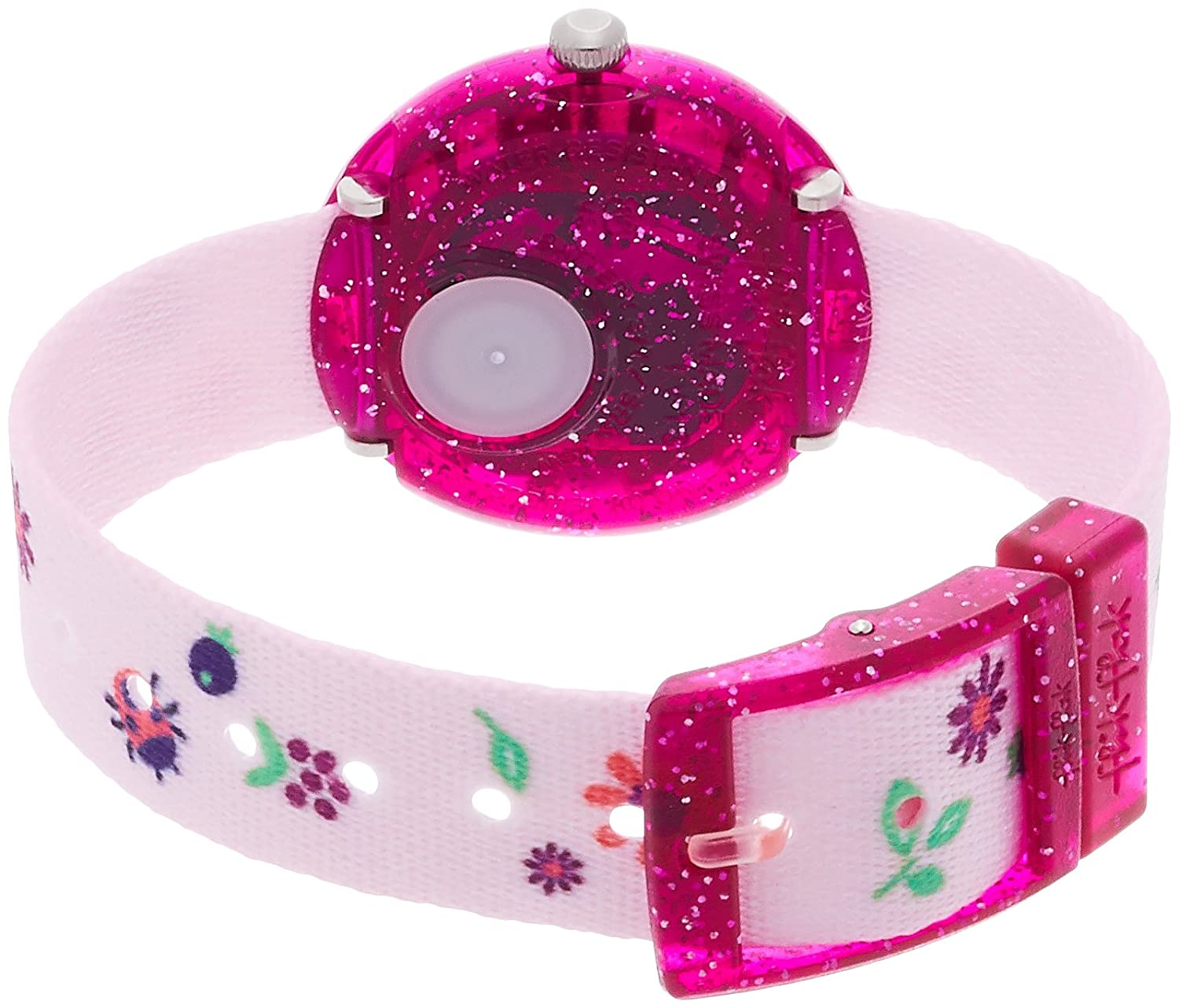 Amazon.com: Flik Flak Autumn Colours Flowers Fabric Strap Kids Watch FBNP093: Watches