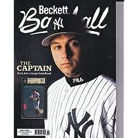 February 2020 Beckett Baseball Price Guide Magazine Vol 20 No 2 Derek Jeter