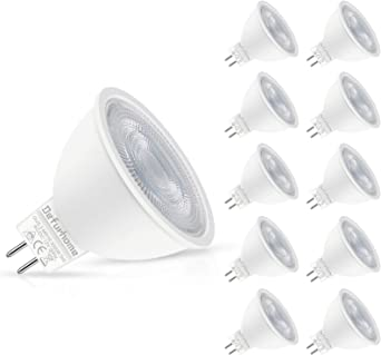 LED Spot Halogenspot Halogenlampe Strahler Leuchtmittel GU5,3 2w warmweiß 230V