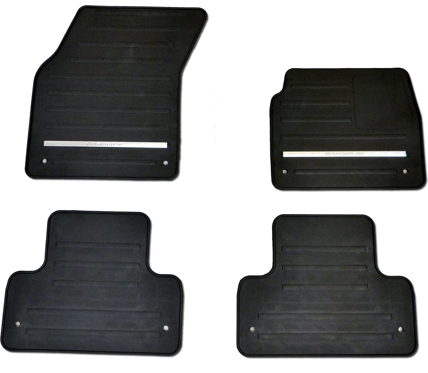 Genuine Range Rover Evoque Rubber Mat Set 2012 Onwards Land Rover