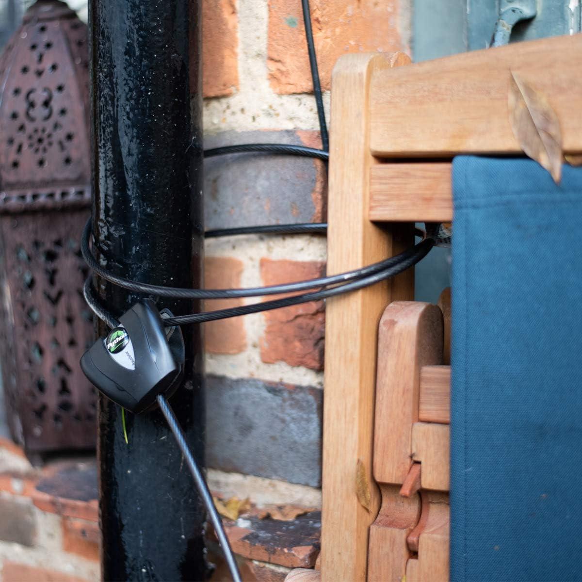 Schwarz Master Lock Kabelschloss Python FA003550428