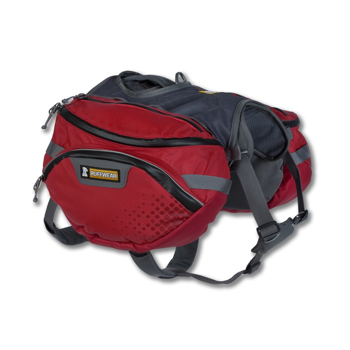 RUFFWEAR - Palisades Multi-Day Backcountry Pack for Dogs Red Currant Medium 50201-615M