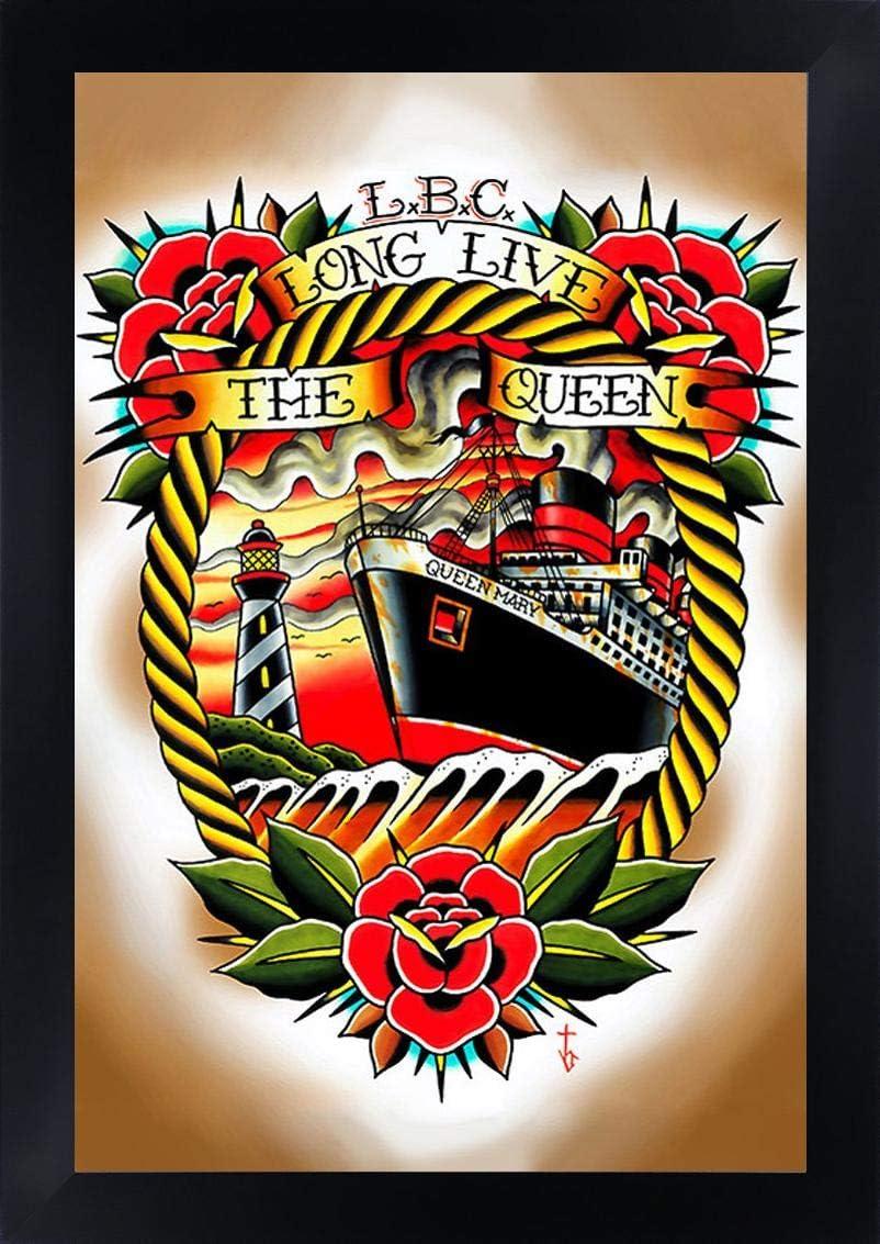 Largo Live the Queen de Tyler Bredeweg Queen Mary tatuaje de nieve ...