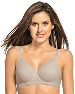 7a30172d11 Leonisa Wireless Triangle Bra with Supportive Design at Amazon ...