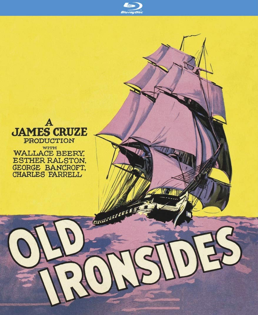 Blu-ray : Old Ironsides (Silent Movie)