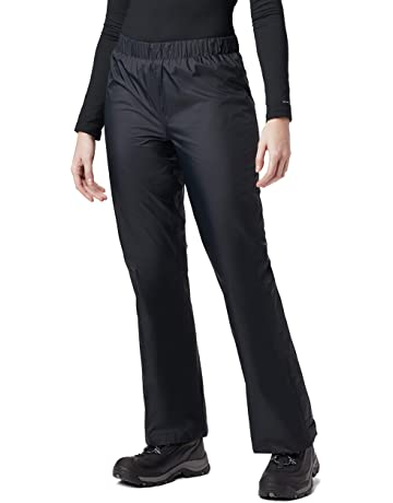 c8099f8544 Columbia Women's Storm Surge Waterproof Rain Pants, Mesh Lined