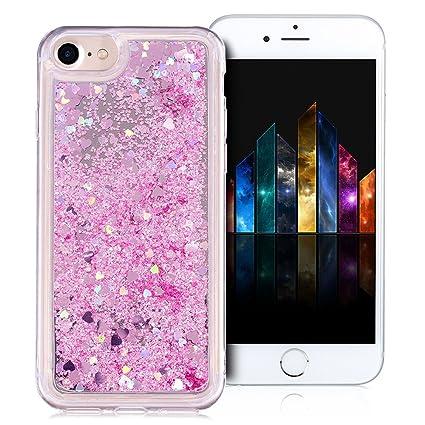 47f1b79a8d6 MoEvn Funda iPhone 6 Plus iPhone 6S Plus Liquid Clear Transparente Carcasa  de Silicona TPU Espejo