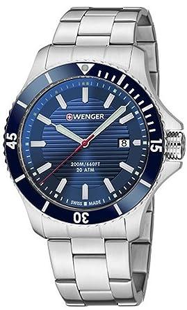 bb77f363097a Wenger Seaforce relojes hombre 01.0641.120  Wenger  Amazon.es  Relojes