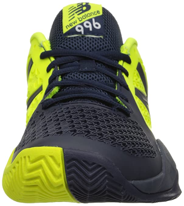 New Balance Mens 996v2 Tennis Shoe, Blue/Yellow, 7.5 D US ...