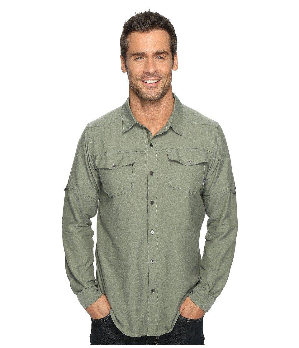 Columbia Mens Pilsner Peak II Long Sleeve Shirt