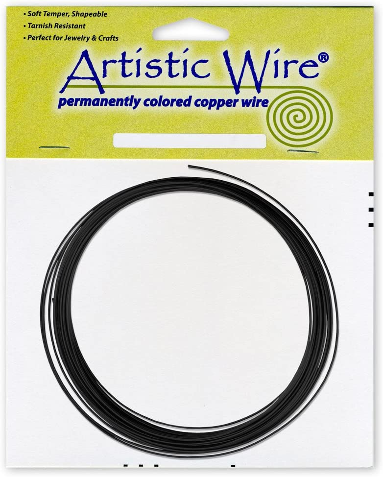 Artistic Wire 14 Gauge Wire Tarn Resist Brass 25-Feet