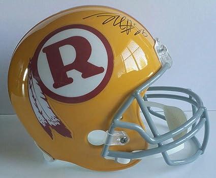 34cf1f5e0da Jordan Reed Autographed Signed Full Size Helmet Washington Redskins JSA