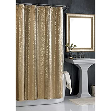 Amazon.com: Sheer Bliss 54-Inch W x 78-Inch L Stall Shower Curtain ...