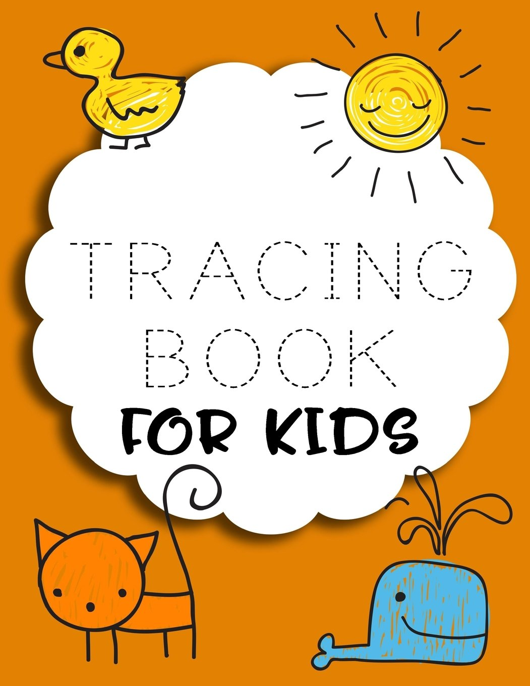 Tracing Book For Kids: Letter Tracing Practice Book For Preschoolers, Kindergarten (Printing For Kids Ages 3-5)(5/8? Lines, Dashed) pdf epub