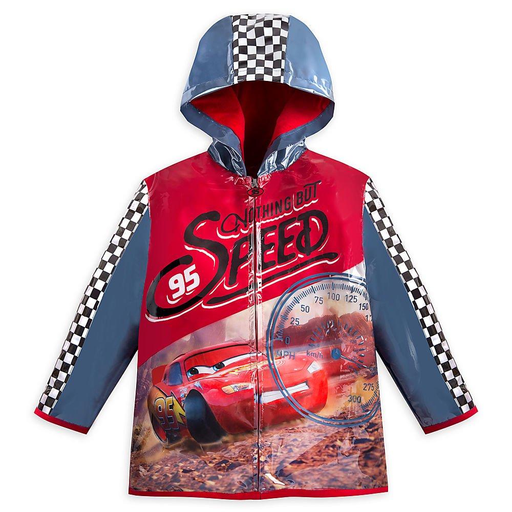 Disney Lightning McQueen Rain Jacket for Boys