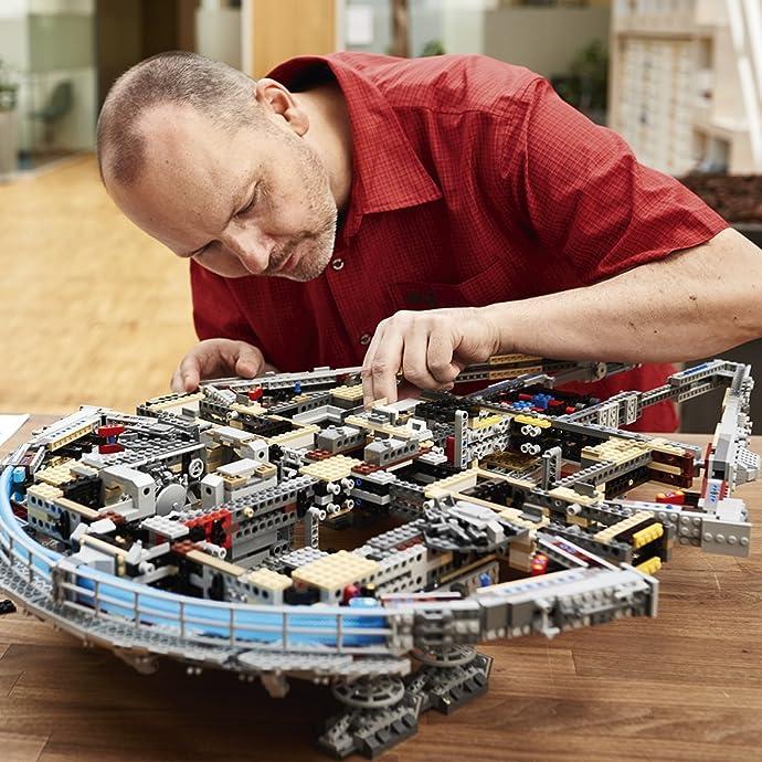 LEGO 乐高 星战系列 终极收藏版 豪华千年隼 75192 积木玩具 ¥4328.76