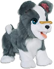 FurReal - Ricky Trick Lovin Pup - Pet Dog - Interactive Kids Plush Toys - Ages 4+