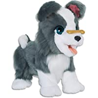 FurReal - Ricky Trick Lovin Pup - Interactive Electronic Plush Toy - Kids Pet Dog - Ages 4+