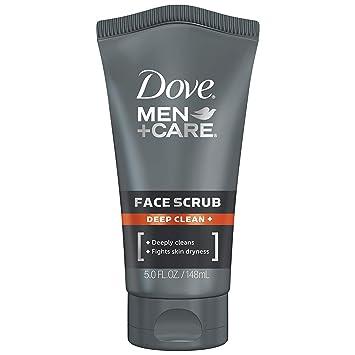 Amazon Com Dove Men Care Face Scrub Deep Clean Plus 5 Oz Beauty